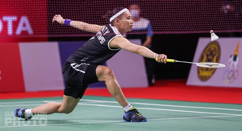 戴資穎在豐田泰國羽球公開賽女單32強不到30分鐘獲勝。(Badminton Photo提供)