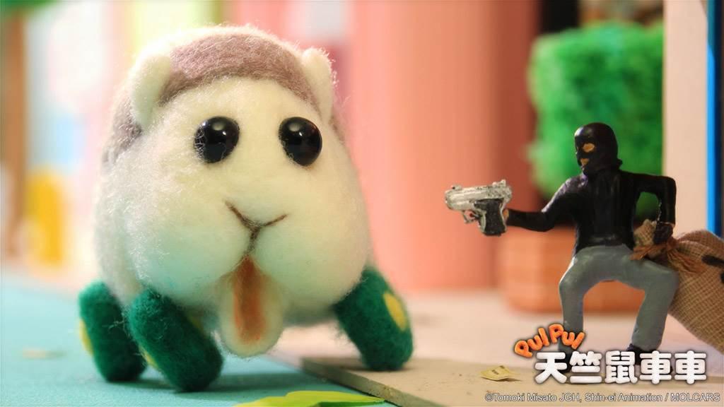 《天竺鼠車車》每集內容不超過3分鐘,受到台日兩地網友追捧。(圖/翻攝自《Muse木棉花》臉書)