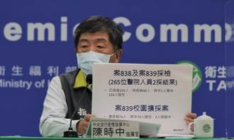 醫院群聚感染增至2醫3護 一個共事1小時 一個僅接觸10分鐘即感染