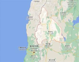 阿根廷聖胡安省6.8地震 震源深度僅10公里