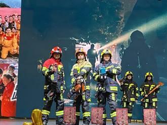 花蓮添購耐焰800度消防衣 助打火英雄救災