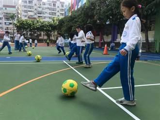 幼童足球指導員巡迴中市校園 造福3000學童