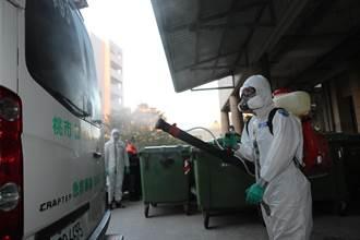 陸軍33化學兵群桃醫消毒作業 確保防疫工作滴水不漏
