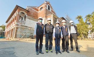 台中州廳古蹟牆 45年首次曝光