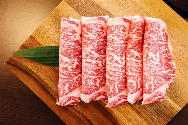 民眾吃火鍋點了一盤和牛,但上菜時的肉品切片卻與實際和牛外觀差距相當大,民眾直呼太誇張。(和牛示意圖,非當事肉品/Shutterstock)