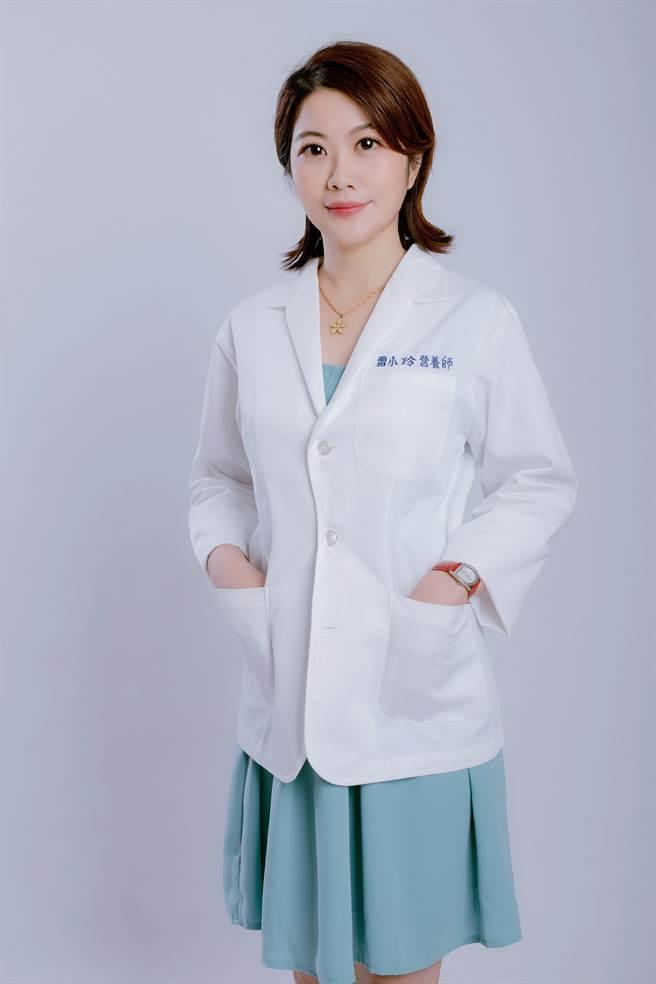 臺北医学大学公共卫生研究所博士资深营养师雷小玲。(图/赢家时代提供)