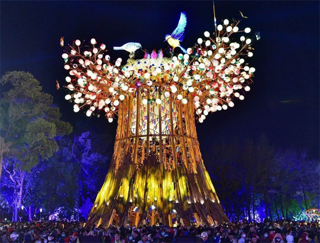 圖為去年台灣燈會主燈。(本報資料照/台中市政府提供)