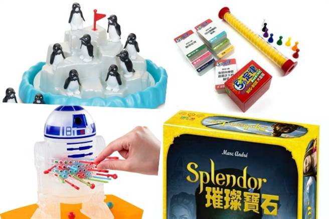 樂天市場針對桌遊推出購物活動,讓你春節期間絕不無聊。(樂天市場提供/黃慧雯台北傳真)