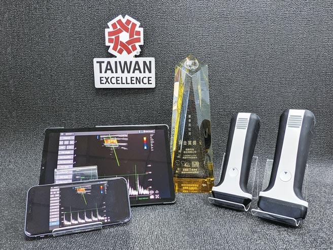 超象超音波影像系统获第29届台湾精品奖。图/业者提供