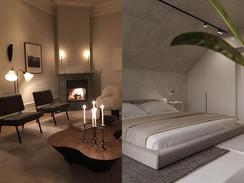 林珈安的家充滿設計感。(圖/IG@ _______lyla_______)