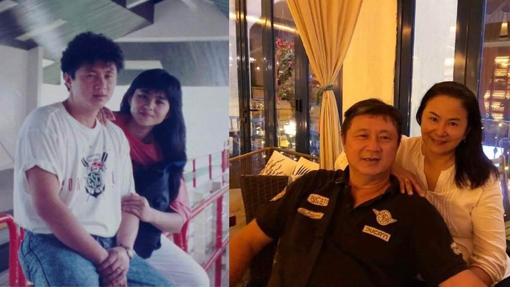 裘海正16歲認識老公馬文鴻,至今已情牽39年。(圖/FB@裘海正)