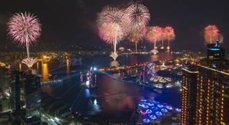 高雄2021跨百光年 璀璨光雕點亮港都未來