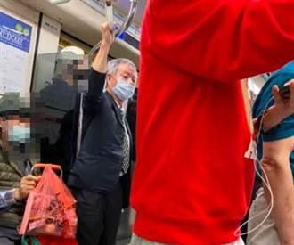 【圍剿志良】財經網美分享一張照 加碼爆:楊志良捷運脫口罩是慣犯