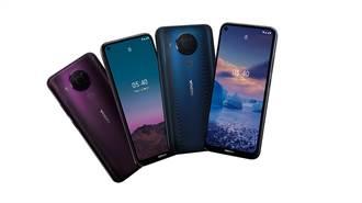 Nokia 5.4搭48MP畫素鏡頭正式發表 新春優惠6千有找