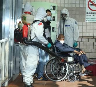 化學兵連2日現身部桃 協助轉院病患消毒