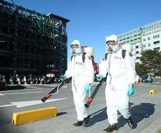 化學兵協助轉院消毒 部桃今完成6成患者轉院