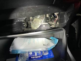 新北保大攔查 車太舊藏毒被發現