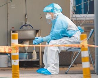 8天9確診 強勢的病毒株在傳染