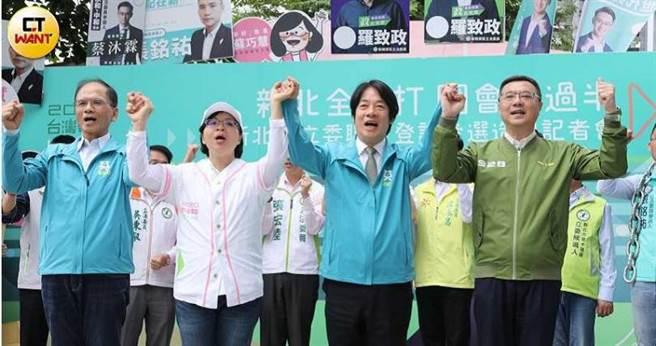 卓榮泰曾暗助賴清德參與總統初選,去年傳出他有意爭取考試院副院長,但遭泛英系成員阻饒。(圖/王永泰攝)