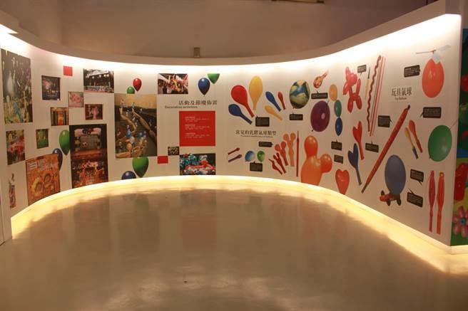 「台灣氣球博物館」提供體驗氣球DIY的樂趣。(台中市觀旅局提供/王文吉台中傳真)