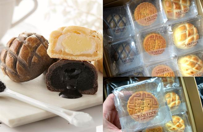 禮盒中囊括奶皇及全新的波蘿芝麻、波蘿奶酥麻薯等熱銷口味,最誘人的「奶皇」選用宜蘭鹹蛋黃製成金黃色流沙,是內行饕客的摯愛。(圖/品牌提供、楊婕安攝)