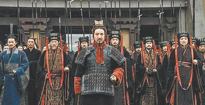 大陸劇《大秦賦》也吸引海外平台採購播放。(摘自微博)