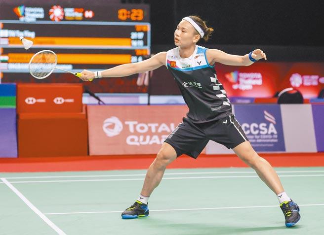 戴資穎晉級豐田泰國羽球公開賽16強。(Badminton Photo提供)