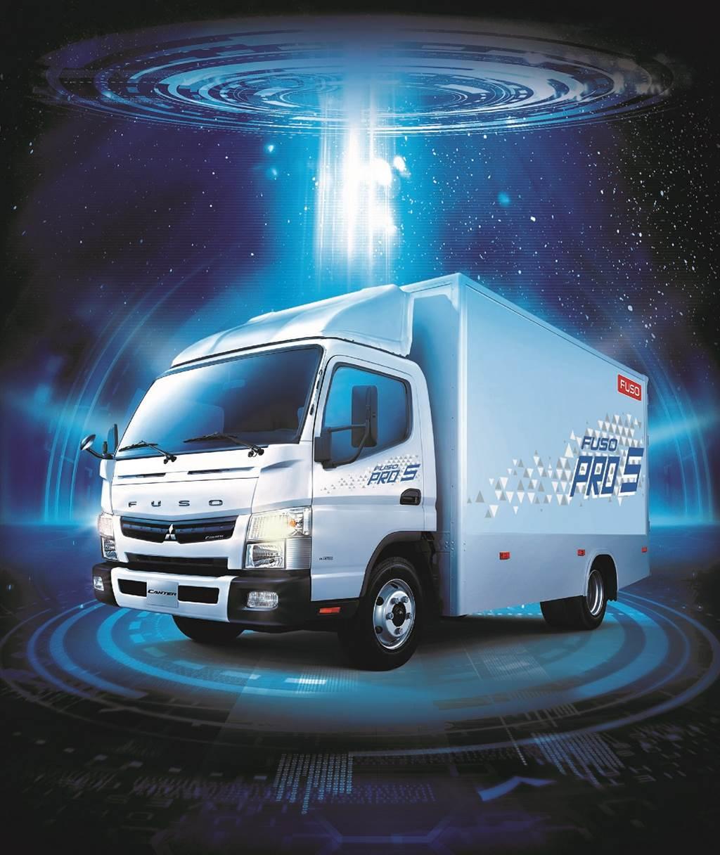好厲害!唯一超越7,000台 FUSO連續29年稱霸3.5噸級(含)以上小型貨車及總巿場雙料冠軍