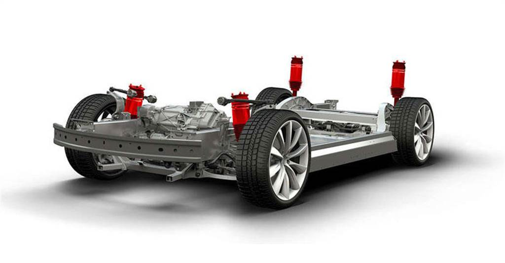 連圖都有了!Model 3、Model Y 主動式懸吊系統可能真的快要登場