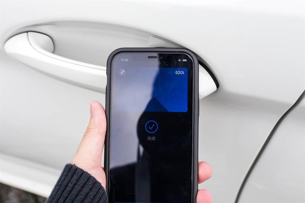 5系列小改款後導入Apple DigitalKey數位鑰匙功能,該功能也陸續導入於BMW 2021年式車型上。