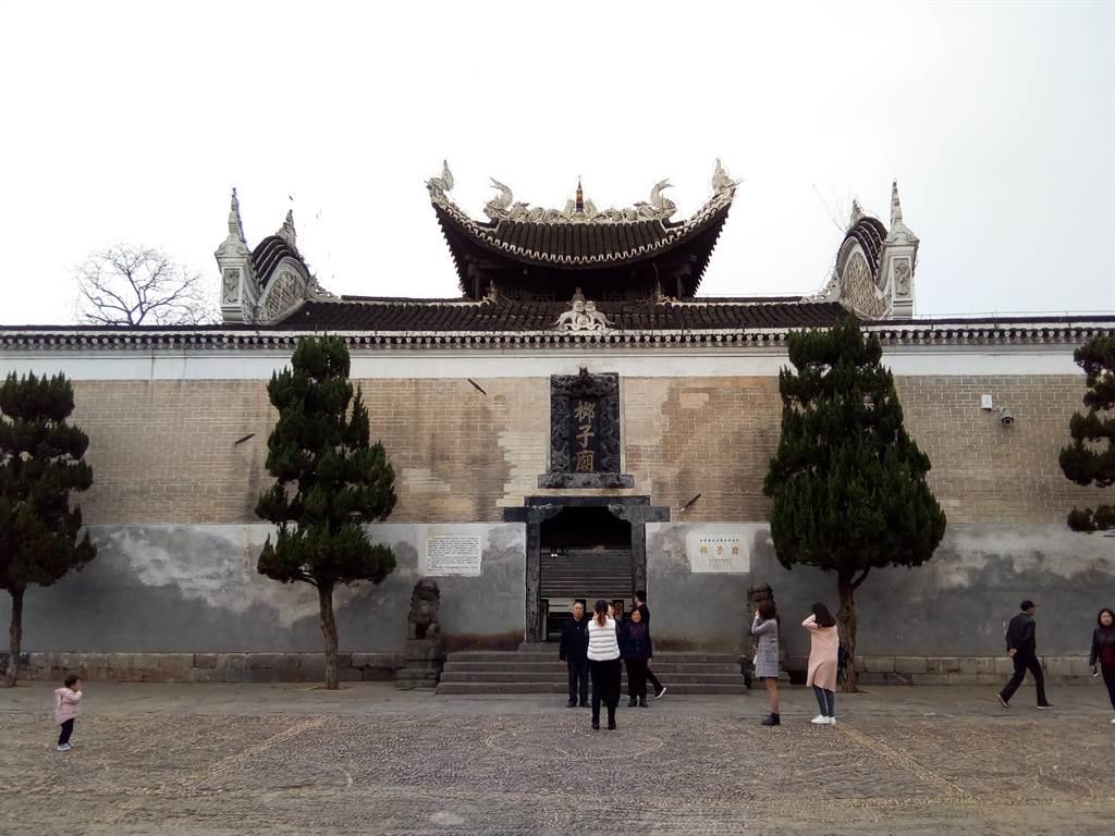 永州柳子廟。(作者提供)