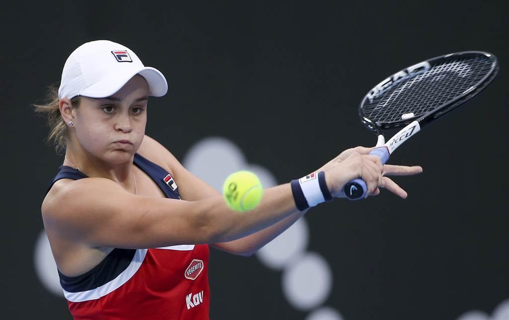 澳洲女網世界球后巴蒂,終於要迎接暌違11個月的首場網球賽事。(資料照/美聯社)