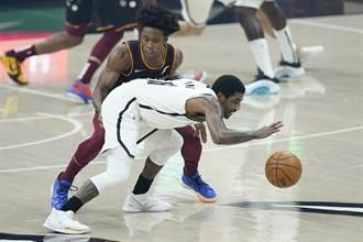NBA》籃網三巨頭首度合體踢鐵板 2OT不敵騎士