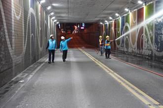 花蓮市中山地下道封閉清洗 22日深夜起禁止通行8小時