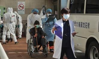 現場直擊!桃園醫院這廂急移病患 那廂各界持續送暖