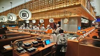 日本前六大迴轉壽司 進駐大遠百開中部首店