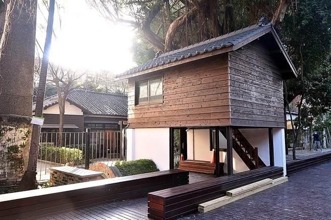 農曆年後,這間「樹屋」也將經改裝成為〈Matcha One 齊東〉一個「在樹上喝茶的茶室」。(圖/姚舜)