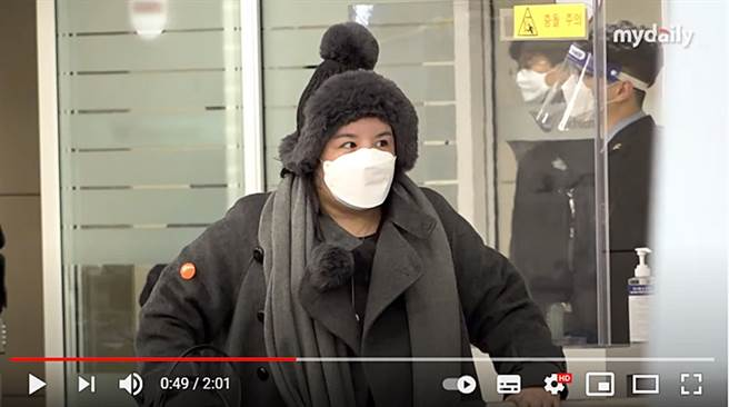 Amy最近回到韩国,整个人长肉不少。(图/翻摄自MYDAILY Youtube)