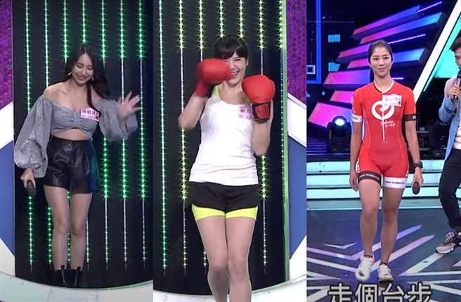 高毓璘(左起)、鄭亦真、侯以理曝光主播台下另一面。(圖/翻攝自YouTube)