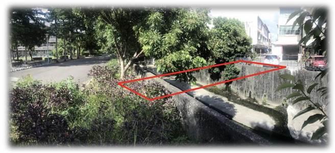 后里運動公園人行便橋工程示意圖。(楊瓊瓔服務處提供/王文吉台中傳真)