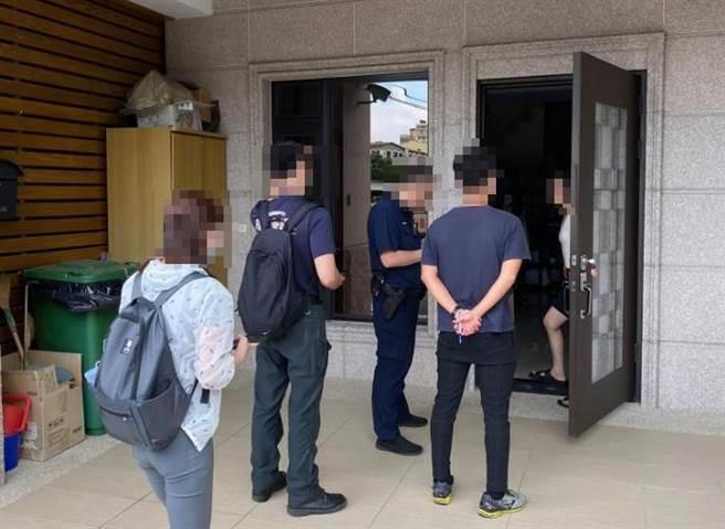 台中市观光旅游局加强稽查非法日租套房,已查获5家收住居家检疫者。(台中市观旅局提供/王文吉台中传真)