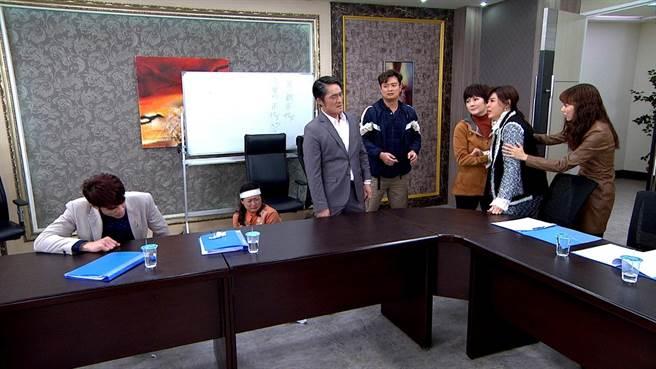 三立八點台劇《天之驕女》「真假太子」橋段吸引120萬人收看。(三立提供)
