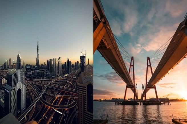 左至右以 iPhone 12 Pro 拍摄(拍摄者Abdullah Shaijie,科威特)、以 iPhone 12 Pro 拍摄(拍摄者Ikuchika Aoyama,日本)。(摘自苹果官网)