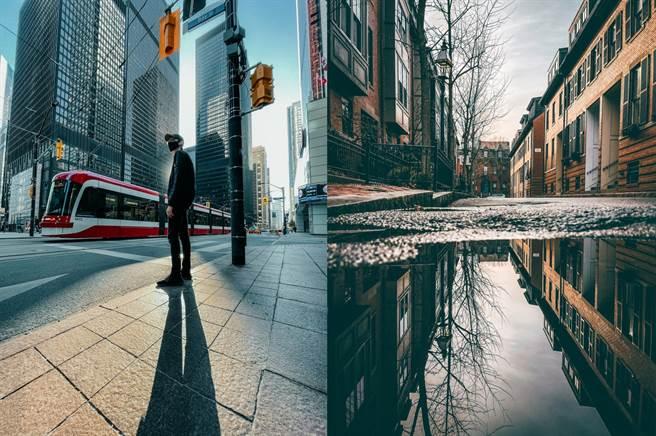 左至右以 iPhone 12 mini 拍摄(拍摄者Matti Haapoja,加拿大)、以 iPhone 12 Pro Max 拍摄(拍摄者Neal Kumar,美国)。(摘自苹果官网)