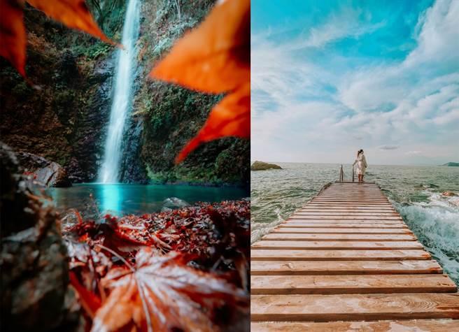 左至右以 iPhone 12 Pro 拍摄(拍摄者Ikuchika Aoyama,日本)、以 iPhone 12拍摄(拍摄者Bahar Akıncı,土耳其)。(摘自苹果官网)