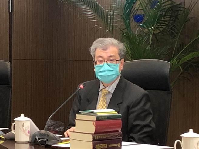 银行局副局长黄光熙。(图/魏乔怡)
