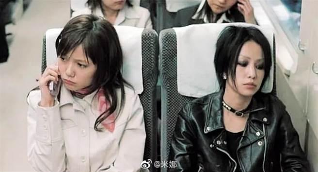 近期大陸微博瘋傳人氣少女漫畫《NANA》預計開拍成大陸電視劇,先期日本已拍過真人版,由宮崎葵和中島美嘉飾演。(圖/ 摘自微博)