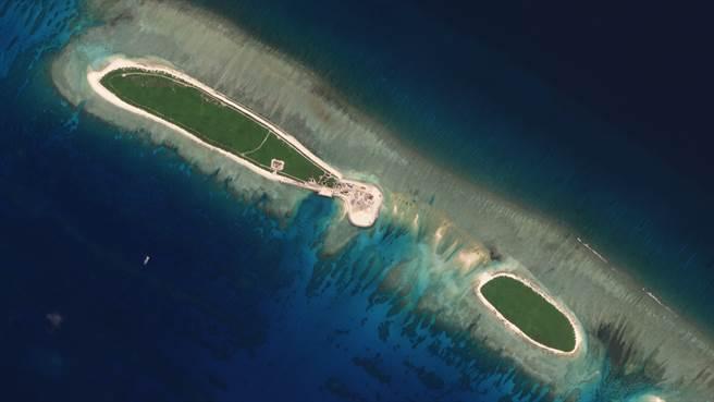 葛羅斯曼認為,越南希望華府能在西沙群島發表聲明,以嚇阻中共的行動。圖為大陸控制的西沙群島南端島嶼。(圖/路透社)