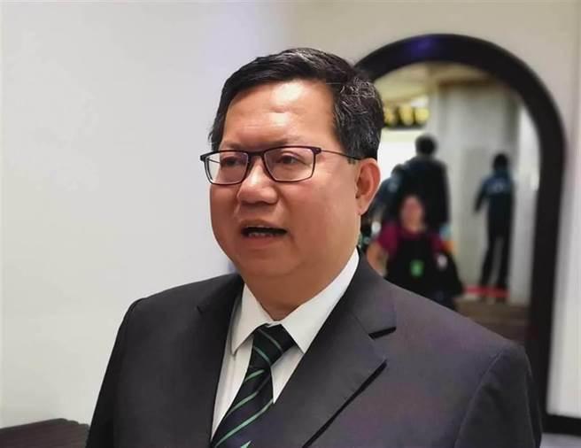 桃园市长郑文灿。(中时资料照)
