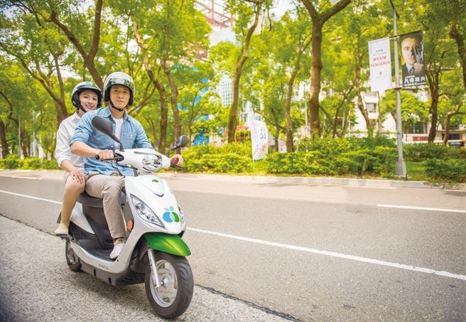 WeMo Scooter因應國人年前龐大交通需求,提早準備過年交通營運布局,讓國人可隨時隨地透過電動機車共享巡遊於城市中。圖/WeMo Scooter提供